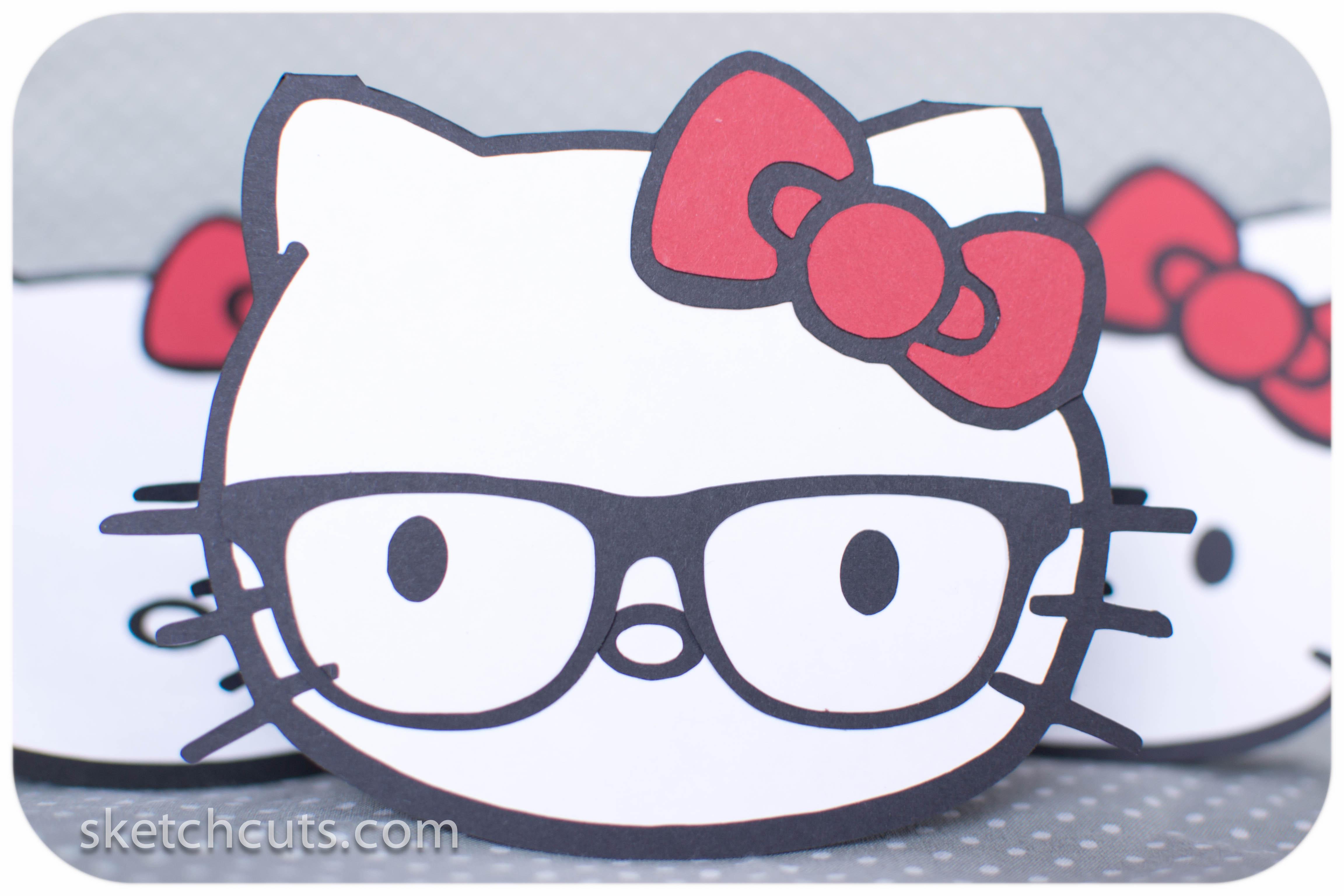 Hello Kitty Sketch Cuts